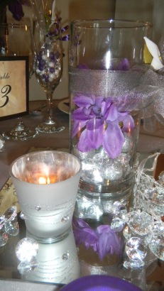 Purple and Silver Grey 012